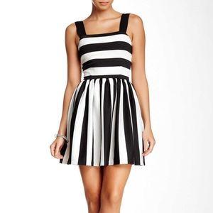 ⭐NEW⭐Love Ady - Black & White Stripe Dress